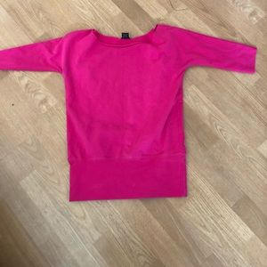 Wet seal bright pink top